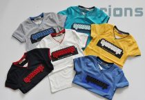 BAHAMAX  Fiú V nyakú  póló GY   6 szín    3D /BAHAMAX/