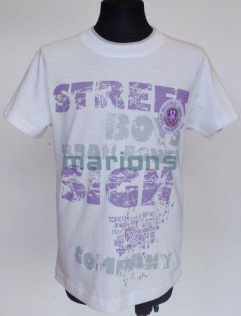 Marions fiú kamasz  póló / Street boys /