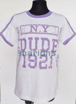 Marions fiú kamasz  póló / N.Y DUDE 1921 /