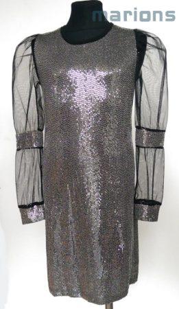 Marions ezüst flitteres ruha