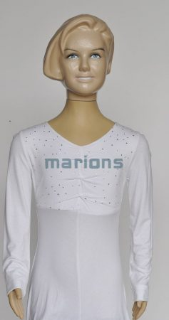 Marions lány kamasz pamut  ruha  3 szín / Tunikás köves /