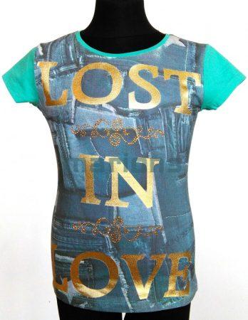 Marions lány  kamasz póló / LOST IN LOVE /