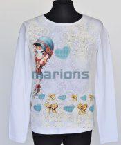 Marions lány gyerek és kamasz póló  / Kislány mintás/
