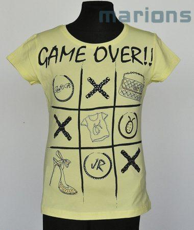 Marions lány, kamasz  póló / GAME OVER/