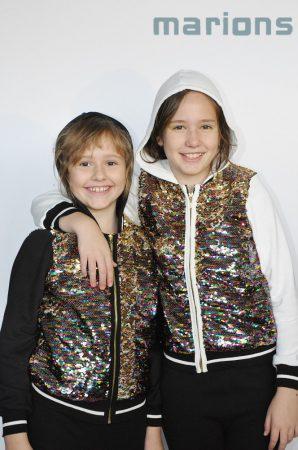 Marions / Lány SIMOGATOS flitteres kapucnis  kardigán/ 2 SZÍN/