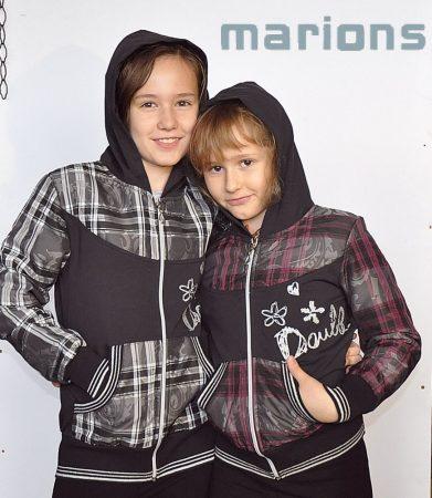 Marions / Lány kapucnis felső 2 SZÍN /DOUBLE/