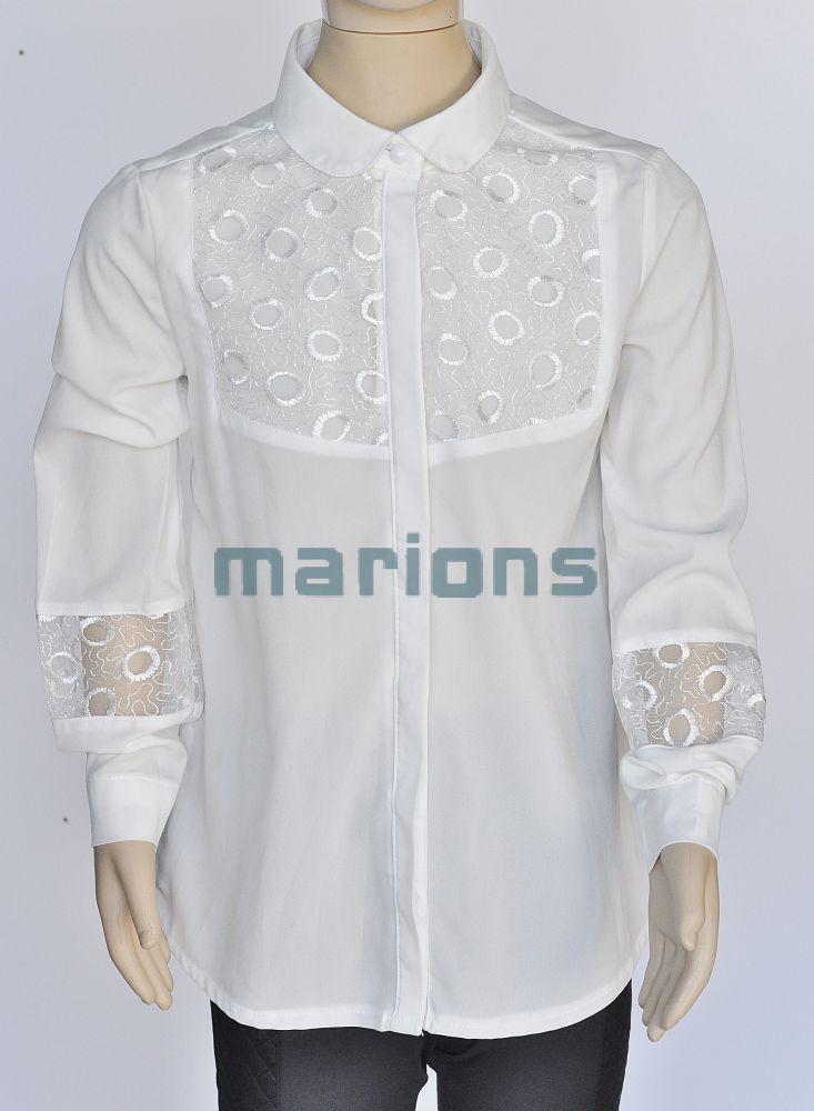 90d290fa30 Marions lány kamasz alkalmi blúz /csipke, hímzett/ / - Marions a jó ...