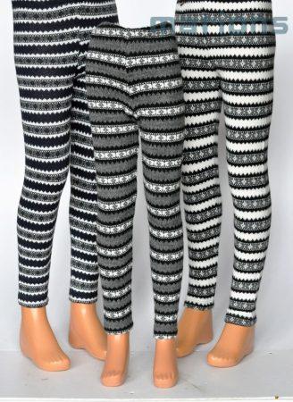 Marions / Lány gyerek és kamasz kötött mintás nadrág