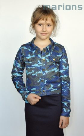 Marions lány terepminás kabát+ruha