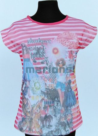 Marions lány, kamasz  póló / 3D /