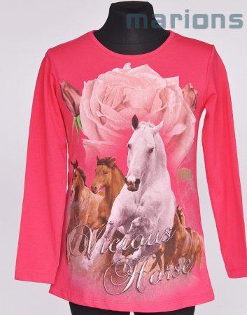 You World   / gyerek  póló / Rózsa és ló/