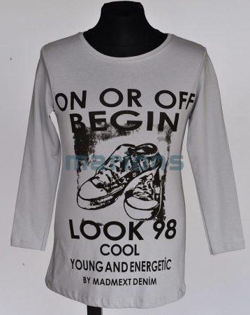 You World  gyerek és kamasz lány  póló / cipős LOOK 98 / 2 színben