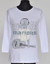 You World  gyerek és kamasz póló / gitáros  / 2 színben