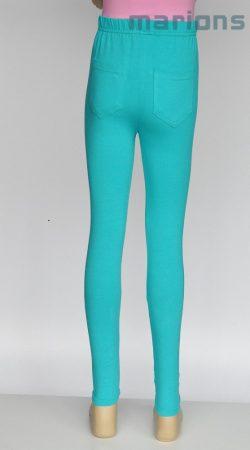You World lány leggings egyszínű hátul zsebes