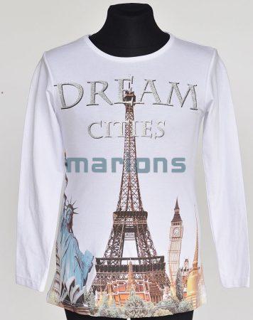 You World   /lány  gyerek és kamasz póló /  Dream Cities