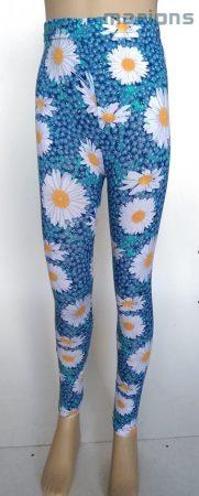 Virág mintás leggings