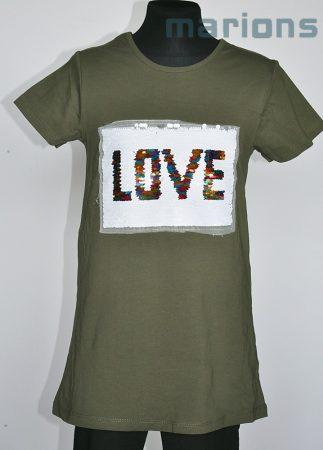 You World   / Simogatós lány póló /LOVE/