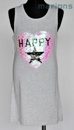 You World   / Simogatós lány atléta póló ruha/HAPPY//