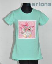 You World   Simogatós lány r. ujjú póló   OWL LOVE   680d86e5b4