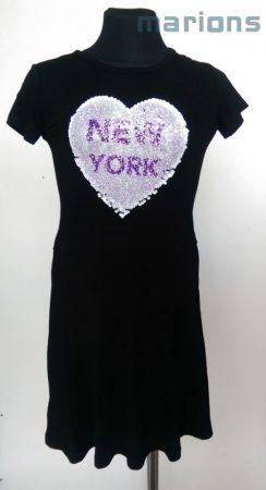 You World   lány simogatós ruha 2 SZÍN  /New York/Paris/