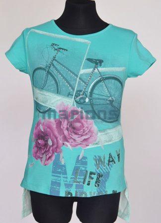 You World lány, kamasz póló / Kerékpár rózsa /