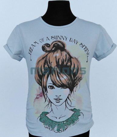 You World lány kamasz póló / Lány fej /